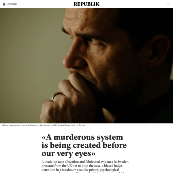 """""""A murderous system is being created before our very eyes"""""""