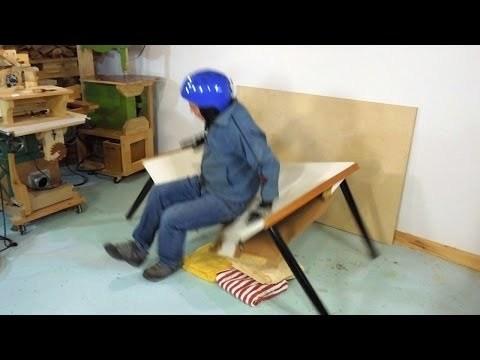 Destructive testing a cheap table