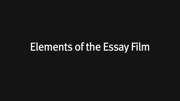 Full description: http://www.fandor.com/keyframe/video-elements-of-the-essay-film What is an essay film? This video explores how essay films use sounds, images, words and editing differently than other forms of cinema.