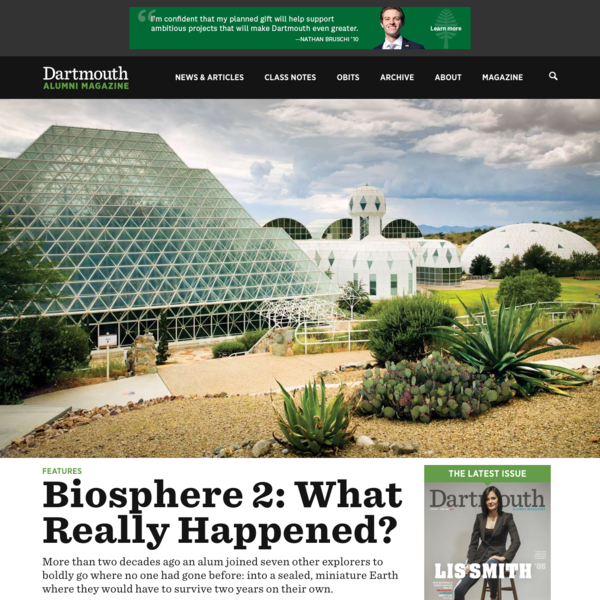 Biosphere 2: What Really Happened?