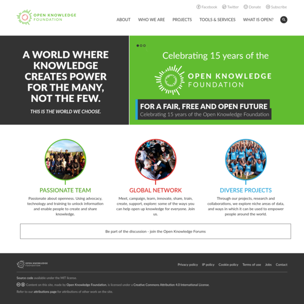 Home   Open Knowledge Foundation