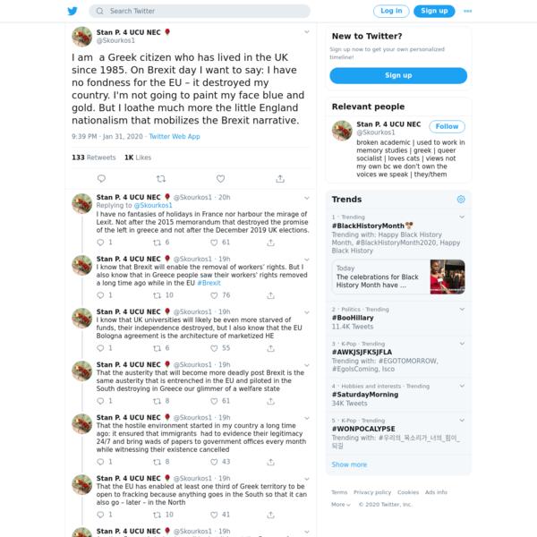 Stan P. 4 UCU NEC 🌹 on Twitter