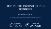 The truth behind filter bubbles: bursting some myths