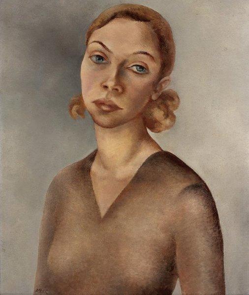 Self Portrait, by Anna Maria Blaupot