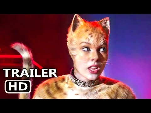CATS Trailer # 2 (NEW 2019) Taylor Swift, Idris Elba, Ian McKellen Movie