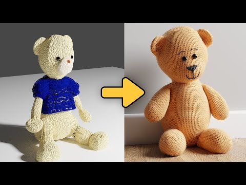 Improving Your Art - Making a Teddy Bear Look Great
