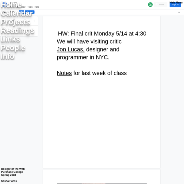 Class Site