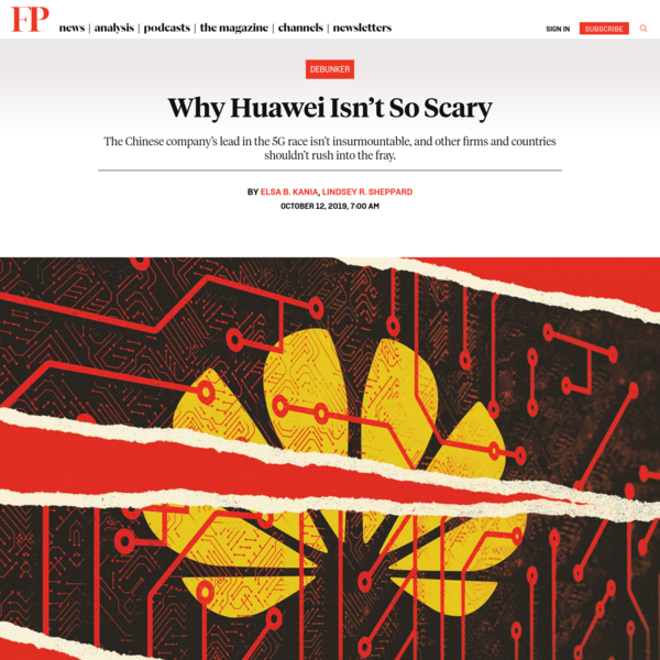 Why Huawei Isn't So Scary