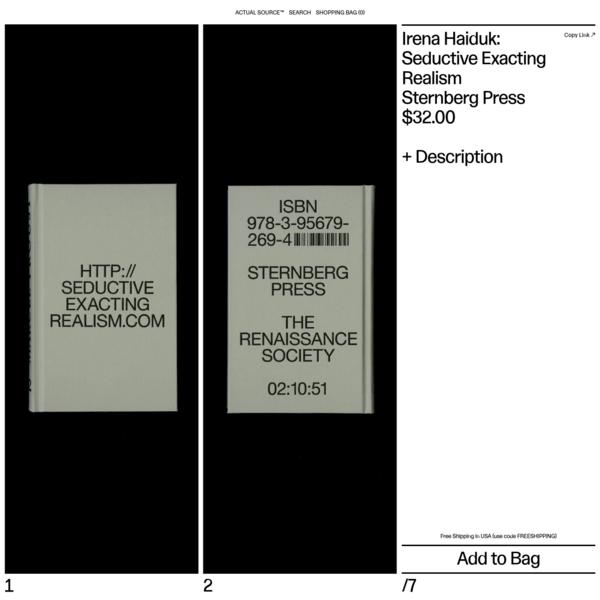 Irena Haiduk: Seductive Exacting Realism