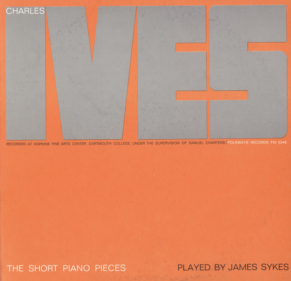 Charles Ives Played by James Sykes