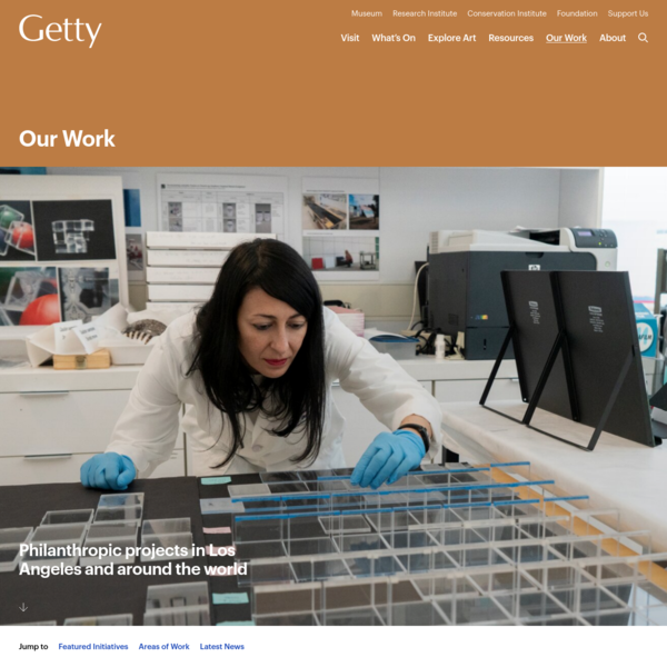 Getty: Resources for Visual Art and Cultural Heritage