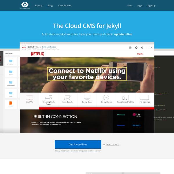 The Cloud CMS for Jekyll | CloudCannon