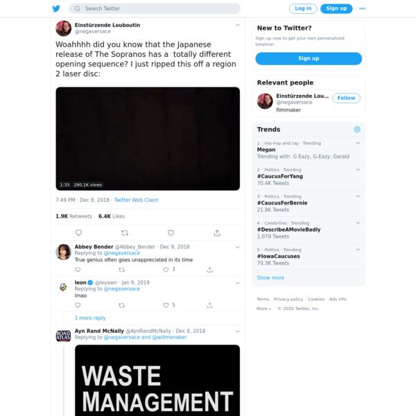 Einstürzende Louboutin on Twitter