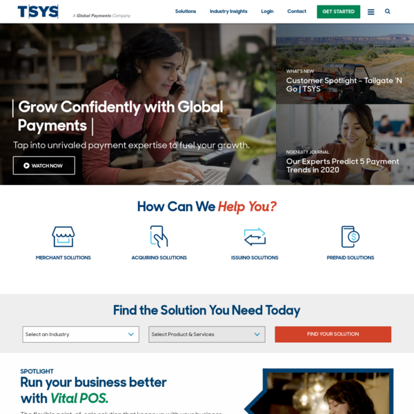 TSYS Payment Solutions: Unlocking Payment Possibilities