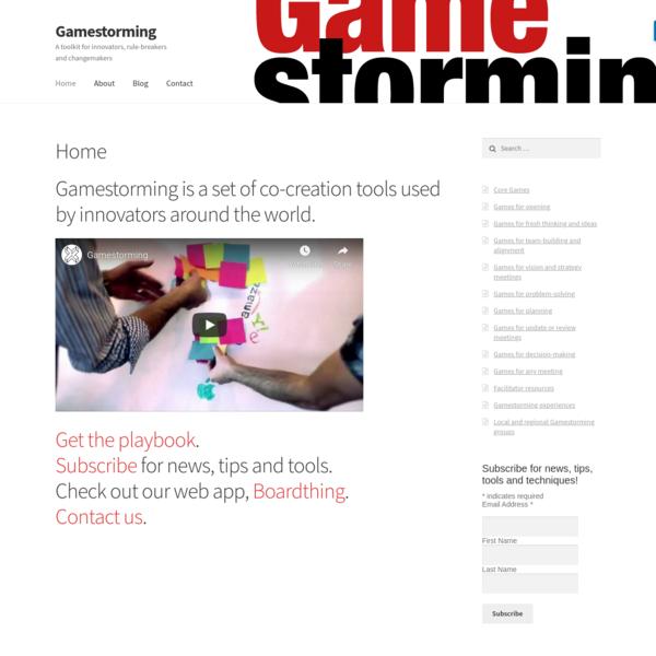 Home - Gamestorming