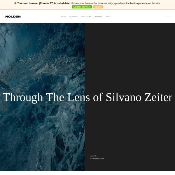 Through The Lens of Silvano Zeiter