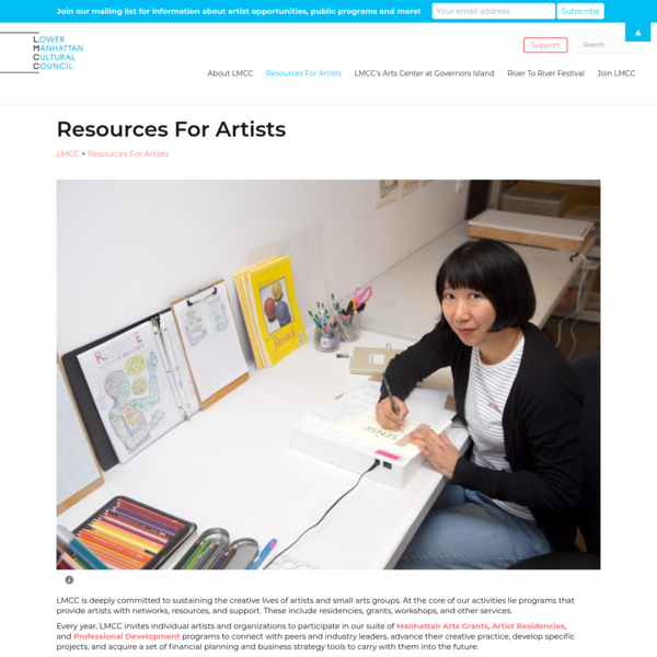 Resources For Artists - LMCC