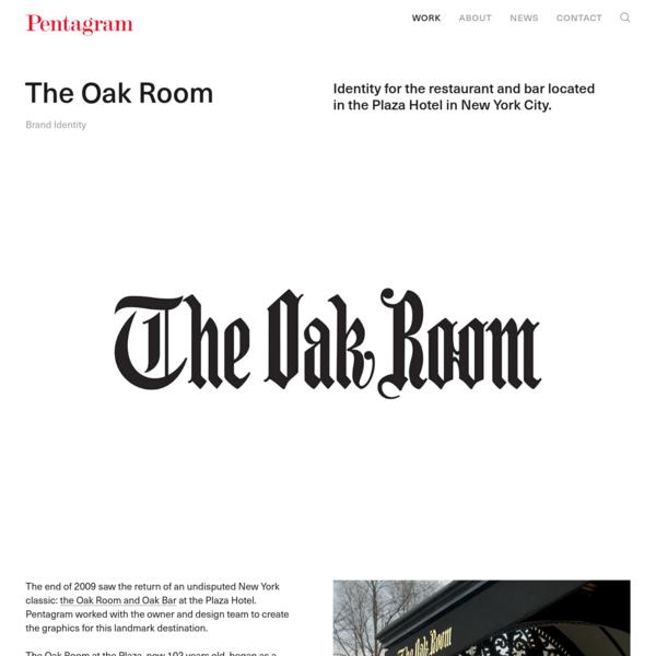 The Oak Room - Story