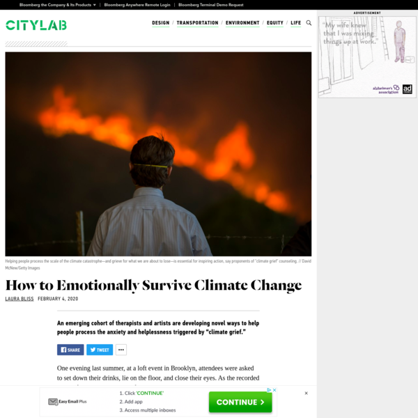 How to Emotionally Survive Climate Change