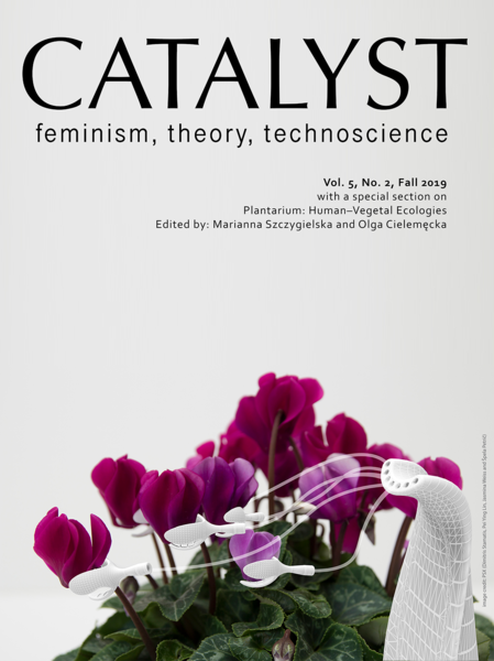 Vol 5 No 2 (2019): Special Section on Plantarium: Human–Vegetal Ecologies