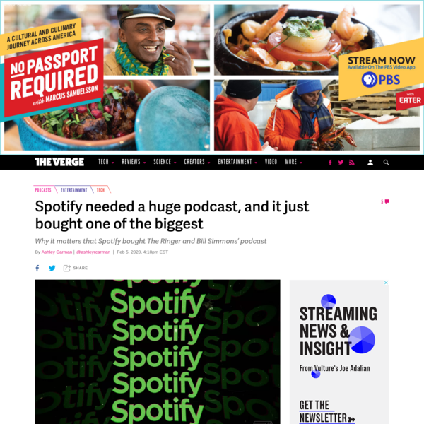 Spotify needed a huge podcast, and it just bought one of the biggest