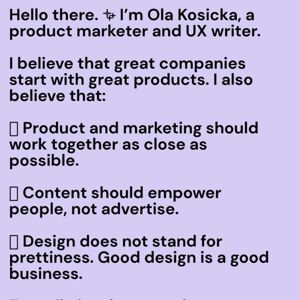 Ola Kosicka
