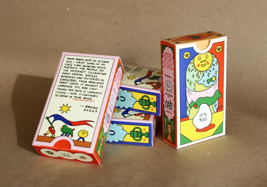 Oracle Cards by Amanda Baeza