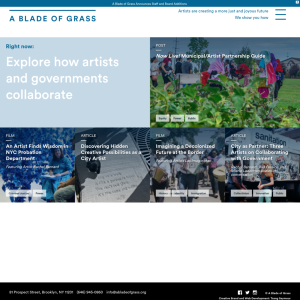What's Happening - A Blade of Grass