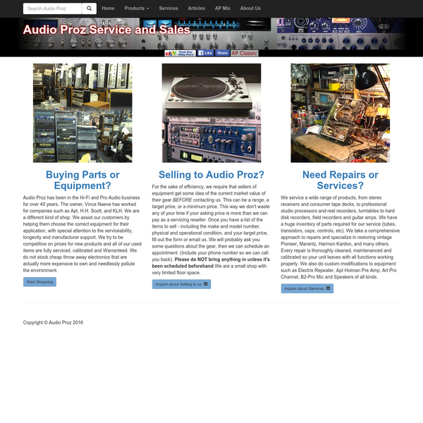 AudioProz - Welcome to Audioproz.com