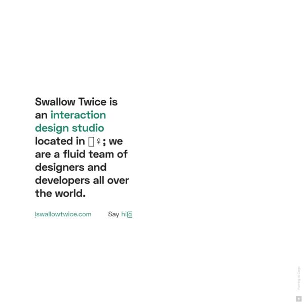 swallowtwice