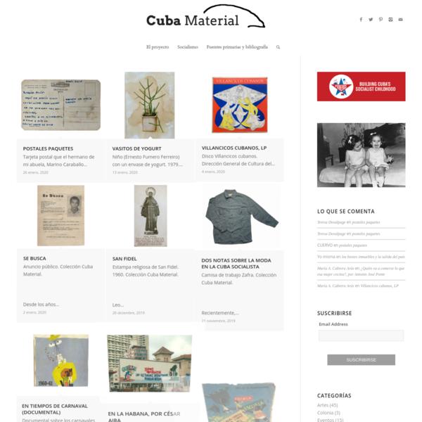 Inicio - Cuba Material