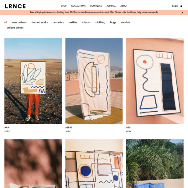 Products - LRNCE