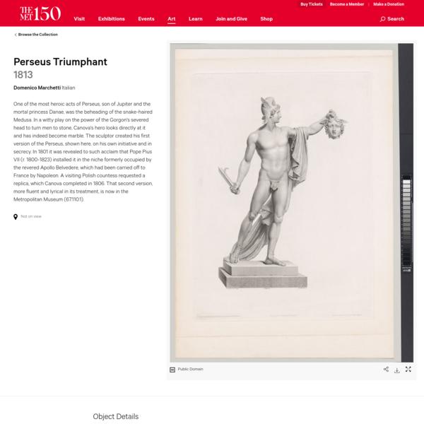 Domenico Marchetti | Perseus Triumphant | The Met