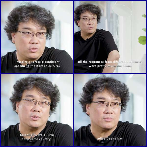 Bong Joon Ho on Parasite