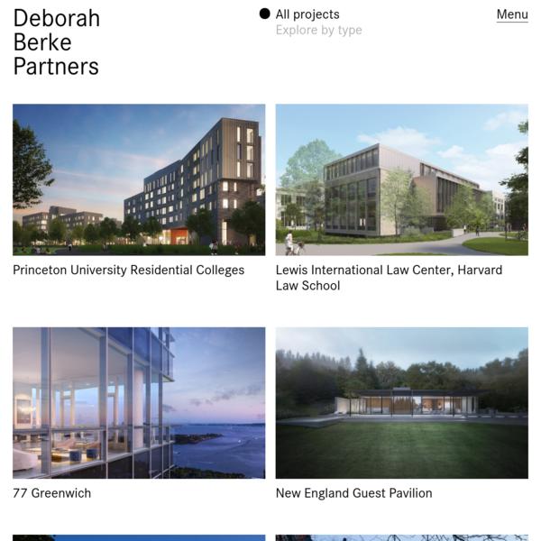 Projects - Deborah Berke Partners