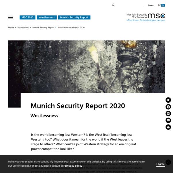 Munich Security Report 2020