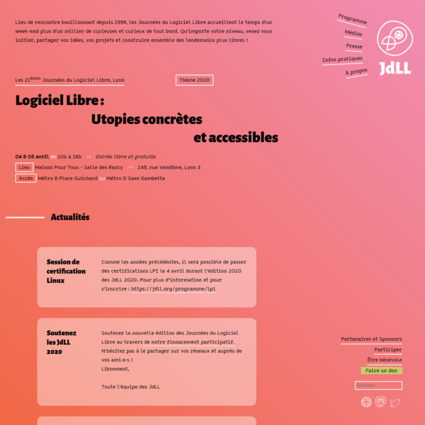 Accueil | JdLL