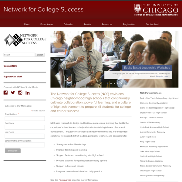 Network for College Success