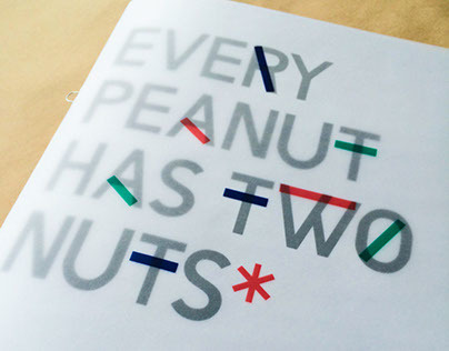 A publication to showcase my typeface, Eva, in its two weights.