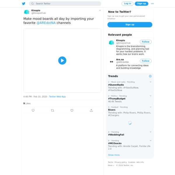Kinopio on Twitter