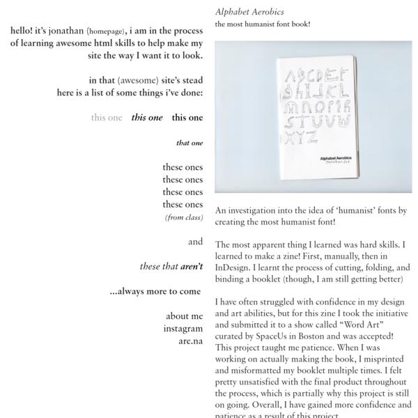 Alphabet Aerobics - Jonathan Xue