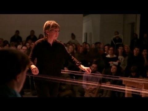 Ellen Fullman performs at MOCAD