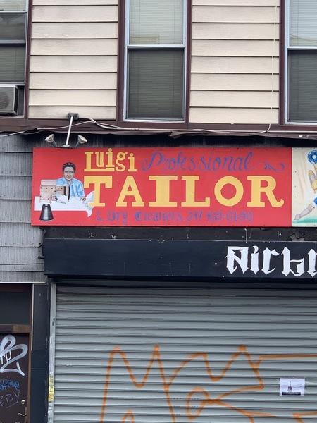 Luigi, Tailor