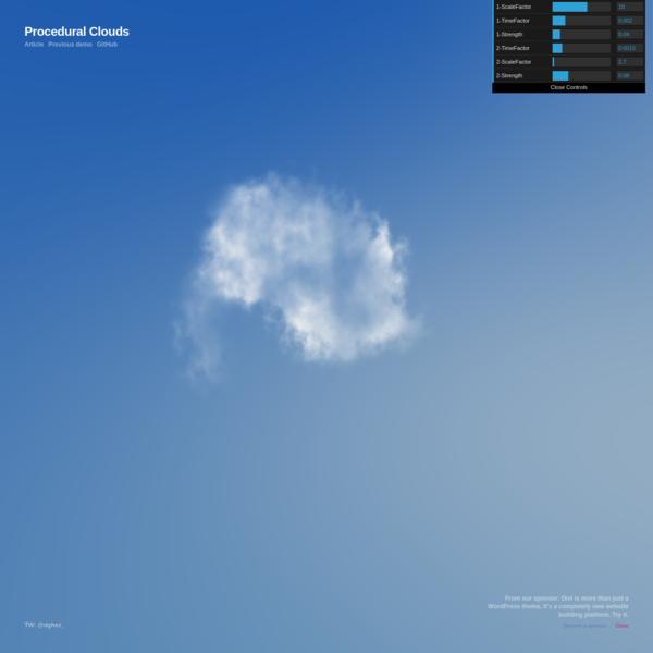 Procedural Clouds