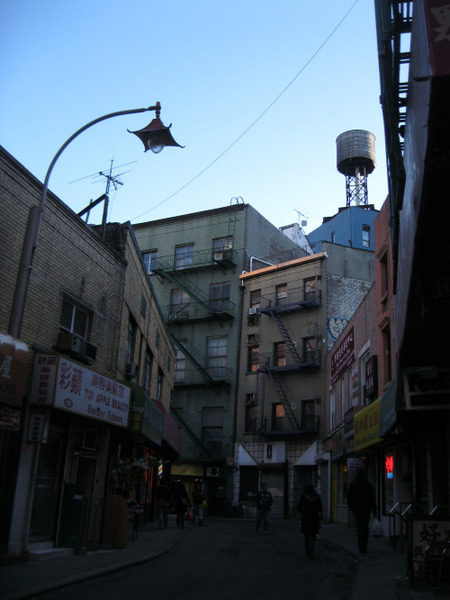 Doyers Street. Original photograph. Same...