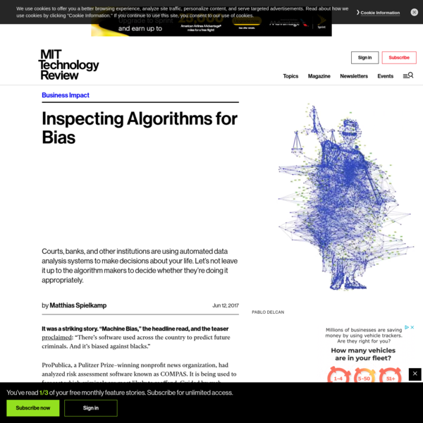 We need to shine more light on algorithms so they can help reduce bias, not perpetuate it