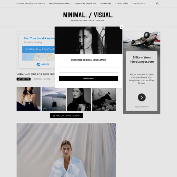Vera van Erp for Nina Ricci Spring-Summer 2019 Lookbook - Minimal. / Visual.