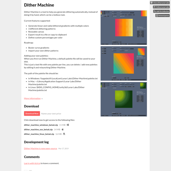 Dither Machine