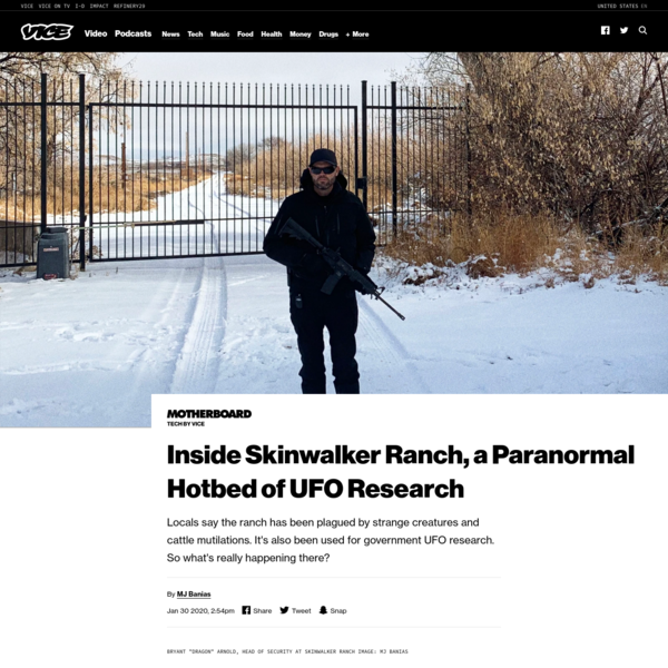 Inside Skinwalker Ranch, a Paranormal Hotbed of UFO Research