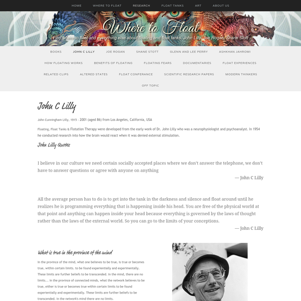 John C Lilly